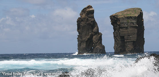 Rocks on the coast - Sao Miguel